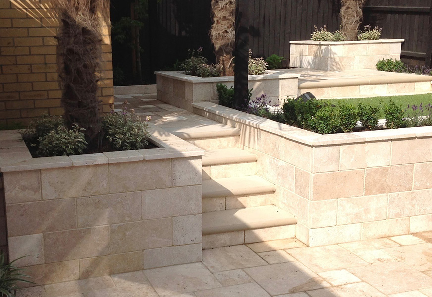 MPC - Travertine Paving - Chatteris